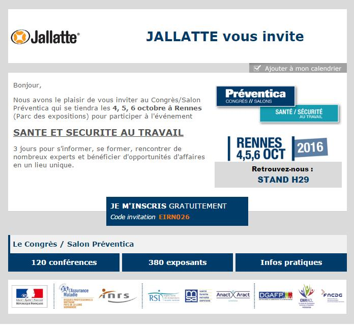 invitation preventica Jallatte 2016